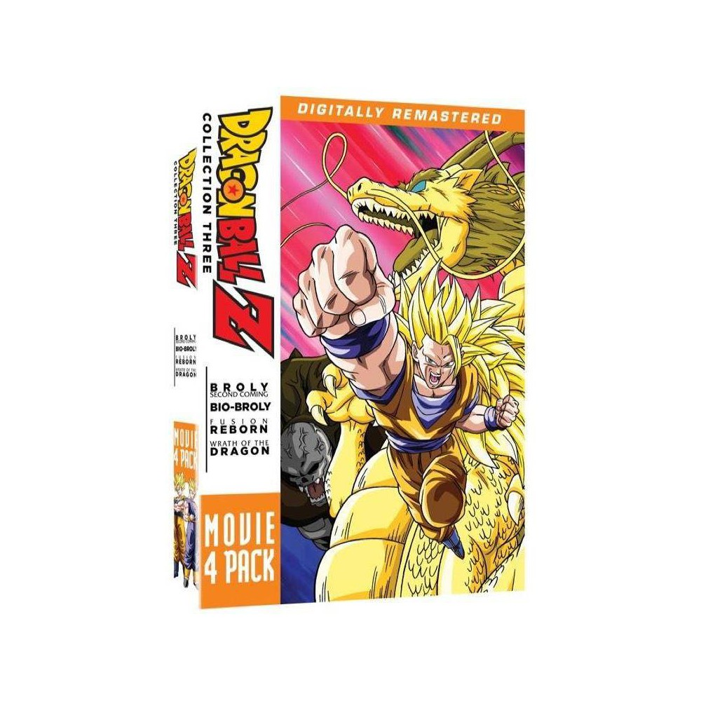 Dragonball Z Movie 4 Pack Collection Three Dvd