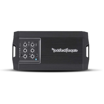 Rockford Fosgate T400X4AD Compact Efficient 4 Channel Amplifier for Car, Motorcycle, Vehicle Sound Systems with 400 Watts of Power