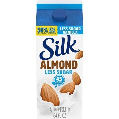 Silk Light Vanilla Almond Milk - 0.5gal