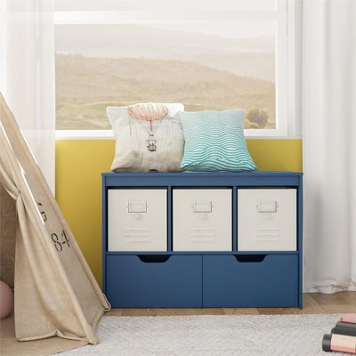 RealRooms Jocelyn Storage Cube with Drawers