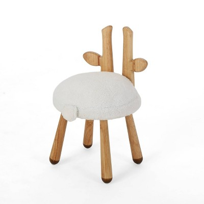 Rose Red's Stoolimals Collection Deer Stool White - Christopher Knight Home