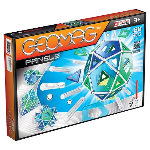 Geomag Construction Set with Assorted Panels - 180 Piece - image 1 of 12