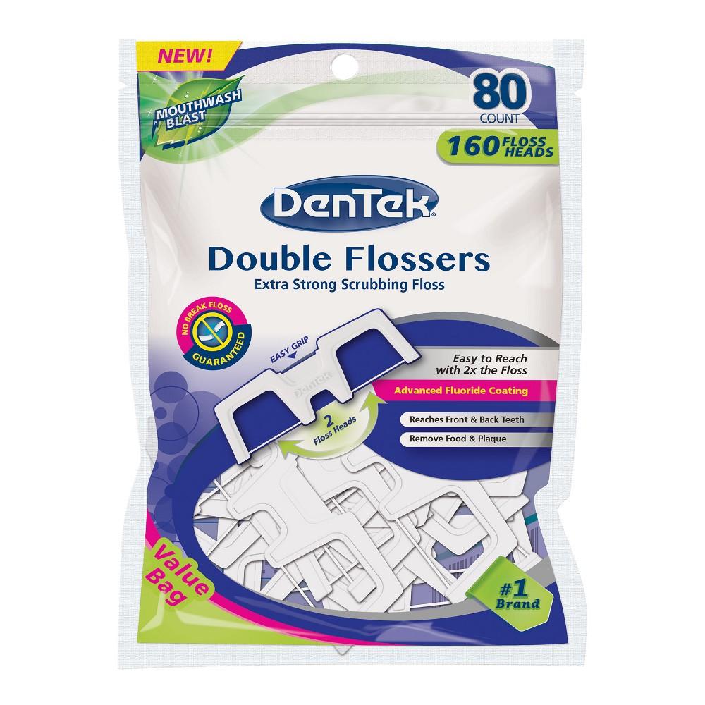 Dentek Mint Flosser - 80ct
