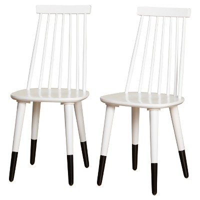 Exceptionnel Hermosa Dining Chair (Set Of 2)   White   Angelo:Home