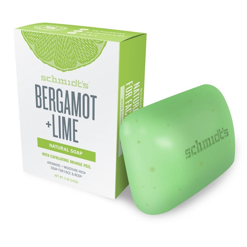 Schmidt's Bergamot Lime Natural Bar Soap - 5oz