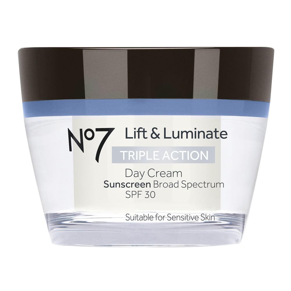 No7 Lift & Luminate Triple Action Day Cream Spf 30 - 1.69oz