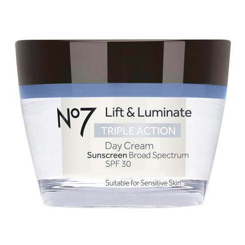No7 Lift & Luminate Triple Action Day Cream SPF 30 - 1.69oz - image 1 of 1