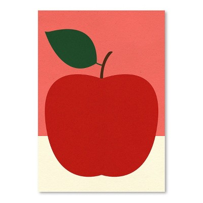 Americanflat Red Apple by Rosi Feist Poster