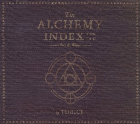 Thrice - The Alchemy Index, Vols. I-II: Fire & Water (CD) - image 1 of 1