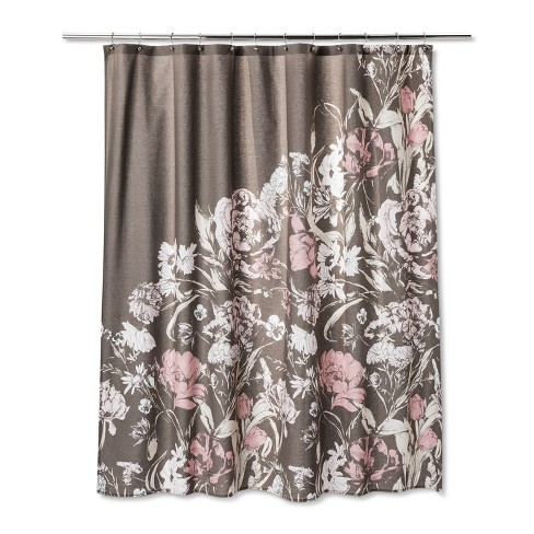 Floral Shower Curtain Afternoon Tea