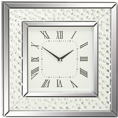 "River Parks Studio Cielo Mirrored 20"" Square Wall Clock"