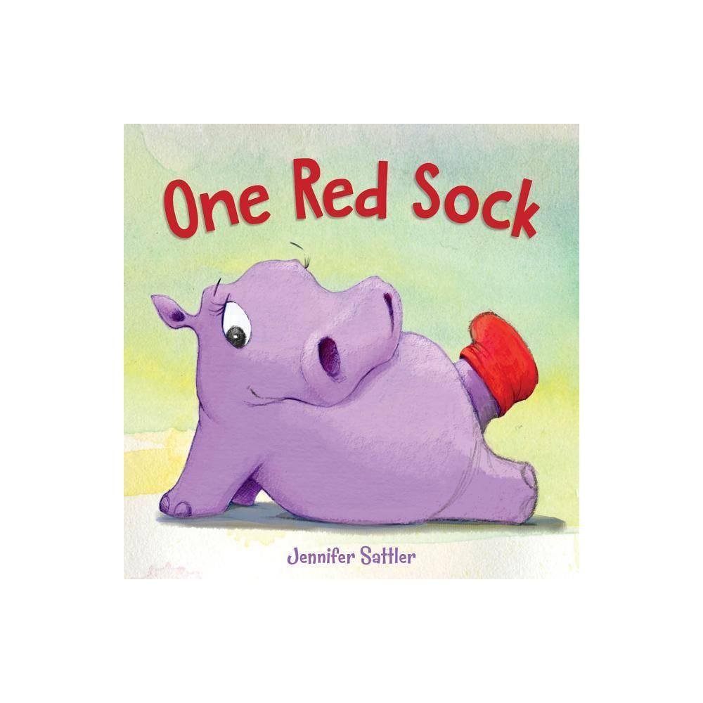 One Red Sock By Jennifer Sattler Hardcover