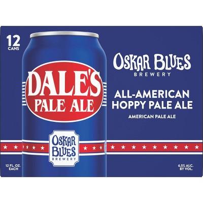 Oskar Blues Dale's Pale Ale Beer - 12pk/12 fl oz Cans
