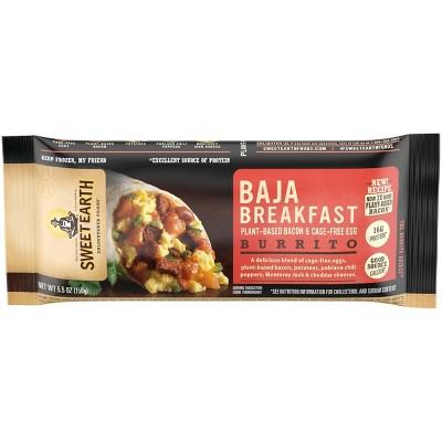 Sweet Earth Baja Frozen Breakfast Burrito - 5.5oz