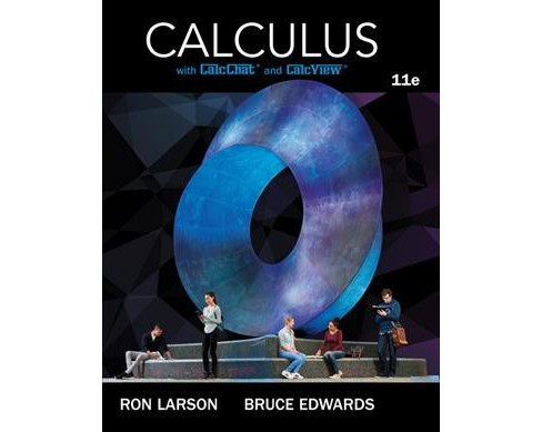 Calculus : With Calcchat and Calcview (Hardcover) (Ron Larson & Bruce Edwards) - image 1 of 1