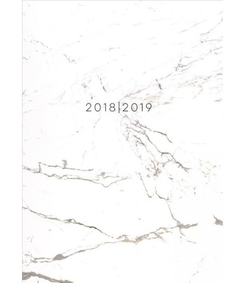 Marble Medium Weekly Monthly 2018-2019 Planner -  (Paperback) - image 1 of 1