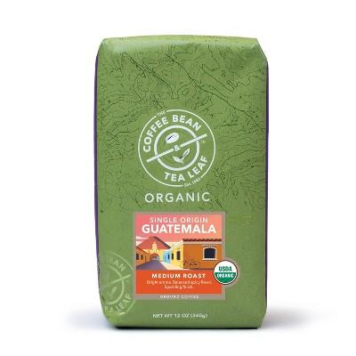 The Coffee Bean & Tea Leaf Guatemala Organic Medium Roast Ground Coffee - 12oz