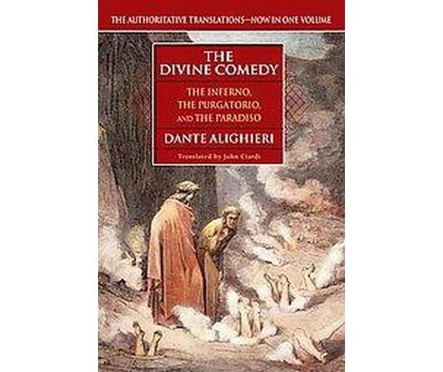 Divine Comedy : The Inferno/the Purgatorio/the Paradiso (Paperback) (Dante Alighieri) - image 1 of 1