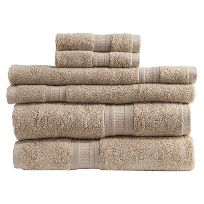 Micro Cotton Aertex 6-pc. Towel Set - Linen