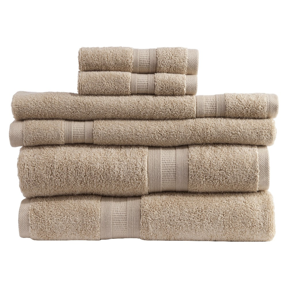 Image of Micro Cotton Aertex 6-pc. Towel Set - Linen