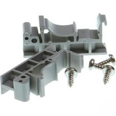 Brainboxes Mounting Rail Kit for Network Equipment - Aluminum