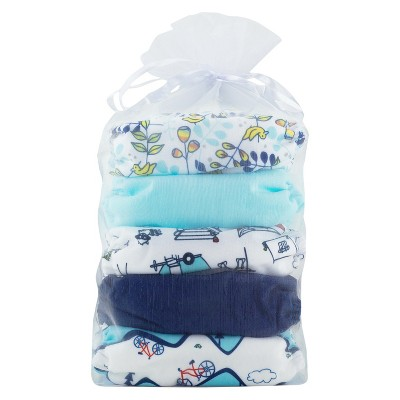 Thirsties All-in-One Snap Outdoor Adventure Diaper Collection, One Size - Birdie