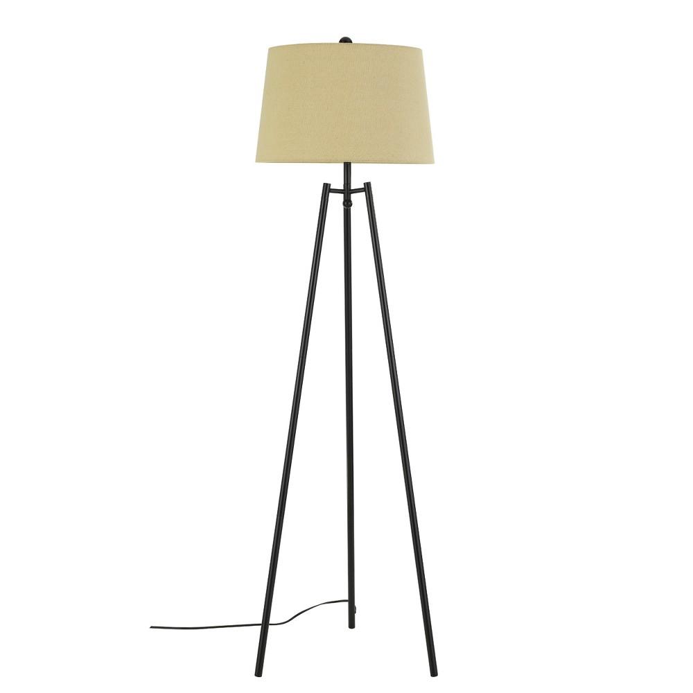 "Image of ""3 Way Reggio Tripod Metal Floor Lamp Bronze 4.7""""x2.2"""" (Includes Energy Efficient Light Bulb) - Cal Lighting"""