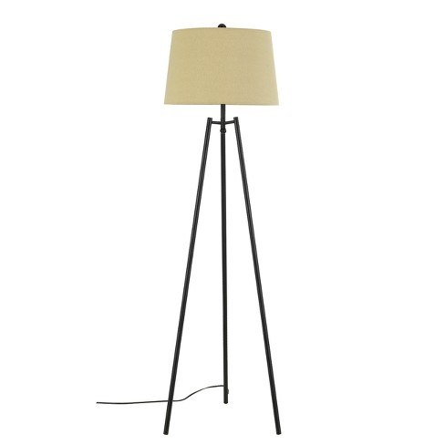 Reggio Tripod Metal Floor Lamp Bronze