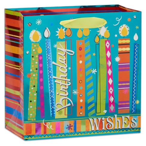 Papyrus Birthday Wishes Large Gift Bag