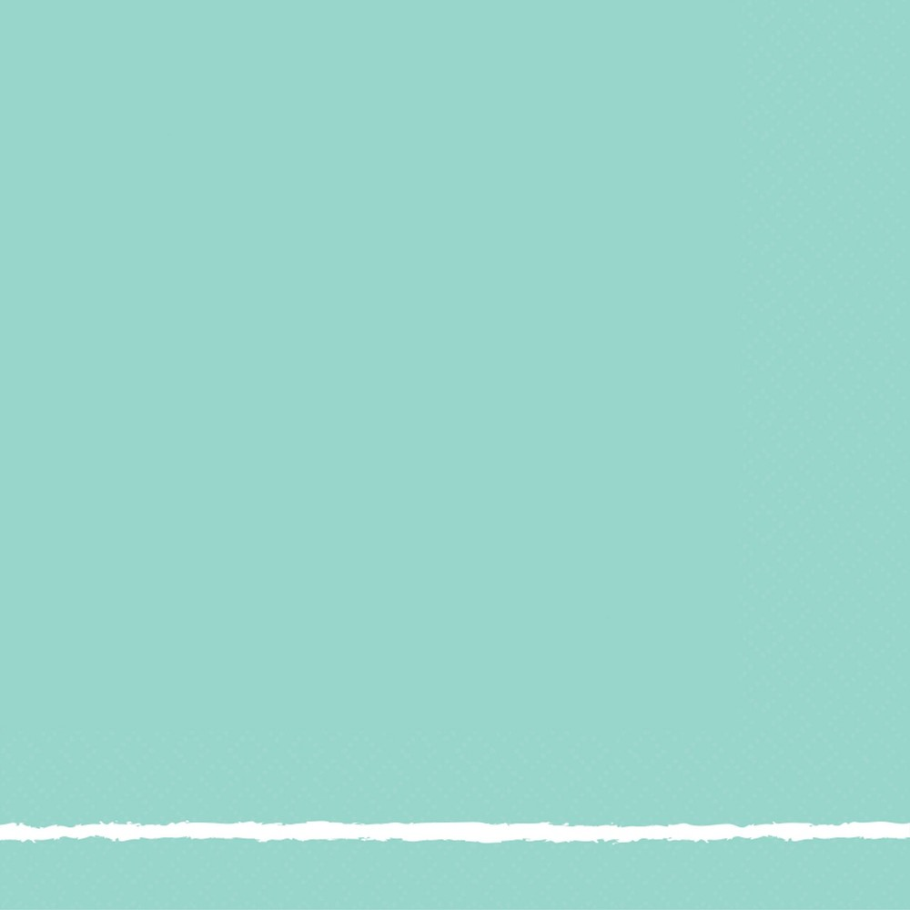 Image of 30ct Lunch Napkin Turquoise - Spritz