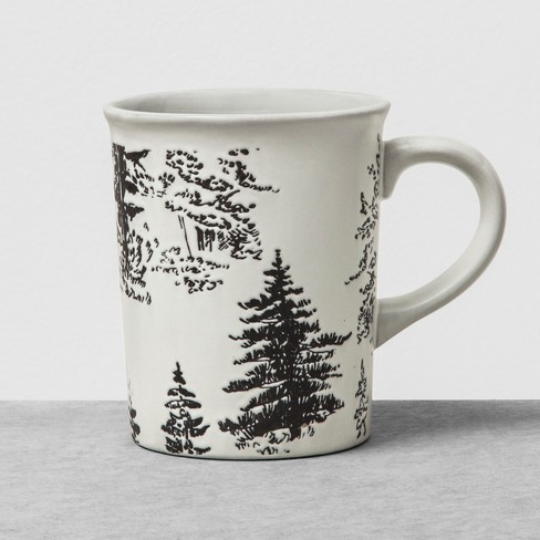 Stoneware Mug Trees Hearth Hand With Magnolia
