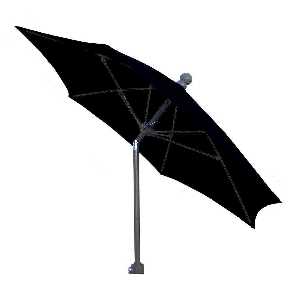 Image of FiberBuilt 7.5' Patio Umbrella FiberBuilt Black