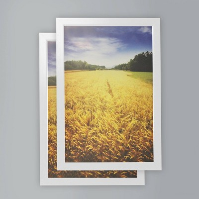 "(Set of 2) 12"" x 18"" Poster Frame White - Room Essentials™"