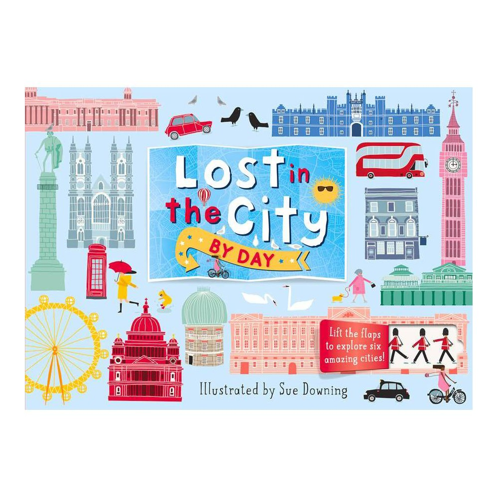Lost In The City By Day Board Book