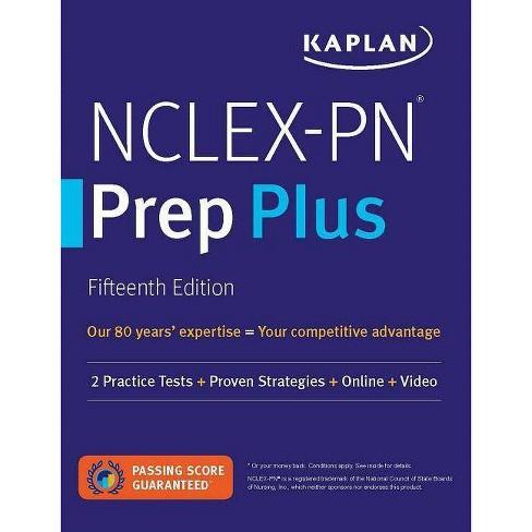 Nclex-PN Prep Plus - (Kaplan Test Prep) 15 Edition (Paperback) - image 1 of 1