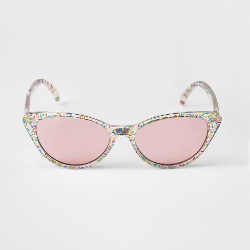 77b145a740 Girls  Sprinkle Cat Eye Sunglasses - Art Class™ One Size   Target