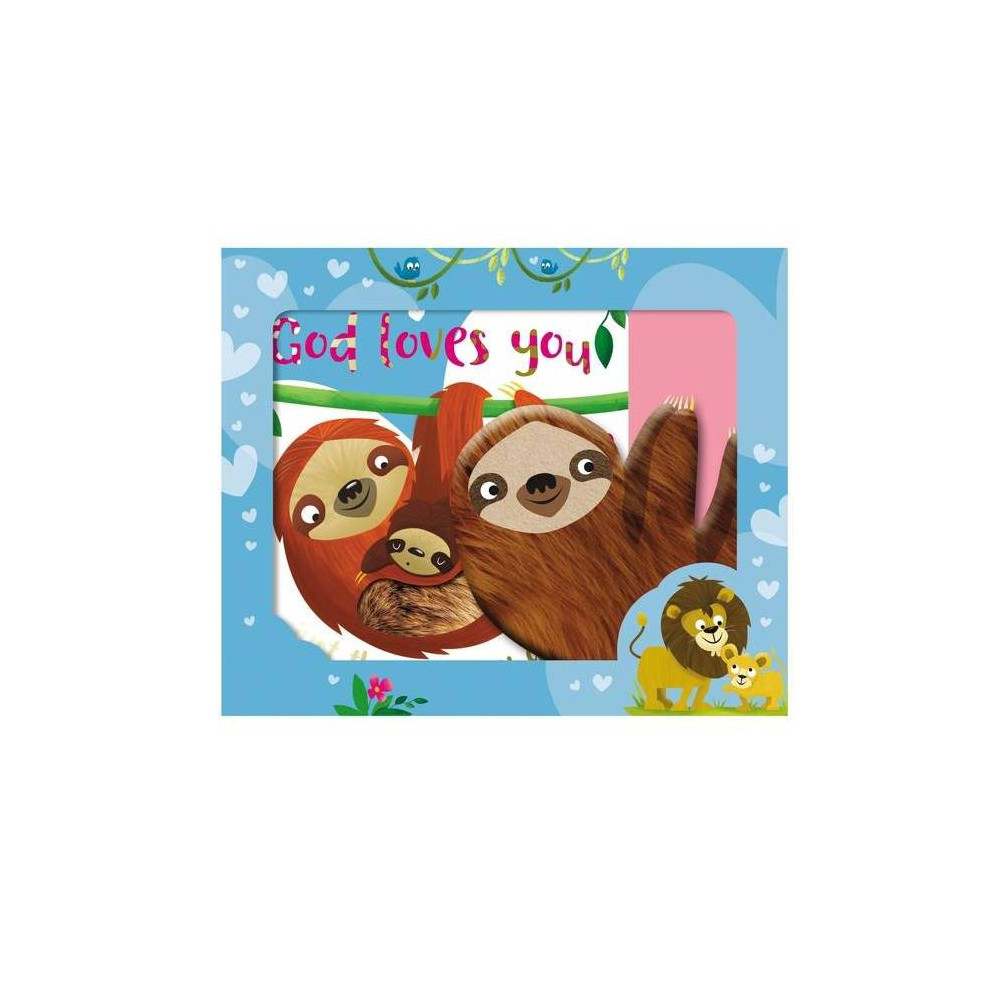 God Loves You Just The Way You Are By Make Believe Ideas Ltd Mixed Media Product