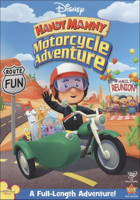 Handy Manny: Motorcycle Adventure - image 1 of 1