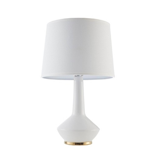 Asheville White Ceramic Table Lamp White (Lamp Only) - image 1 of 4