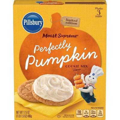 Pillsbury Perfectly Pumpkin Cookie Mix 17.5 oz