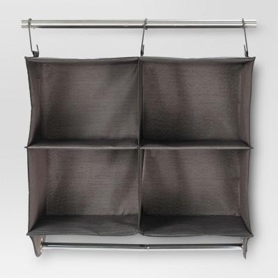4-Shelf Hanging Closet Storage Unit - River Birch - Threshold™