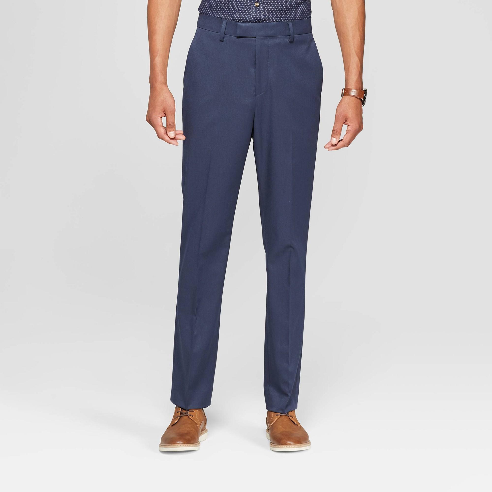 Men's 28 Slim Fit Suit Pants - Goodfellow & Co In The Navy 36x28
