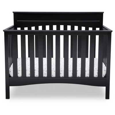 Delta Children Skylar 4-in-1 Convertible Crib - Black