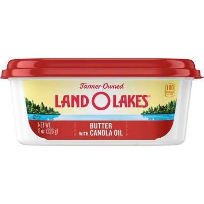 Land O Lakes Butter with Canola Oil - 8oz