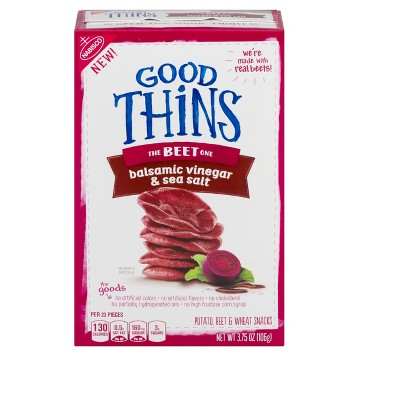 Crackers: Good Thins Beet