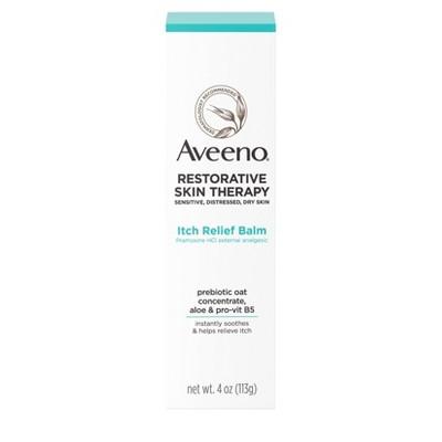 Aveeno Restorative Skin Therapy Itch Relief Balm - 4oz