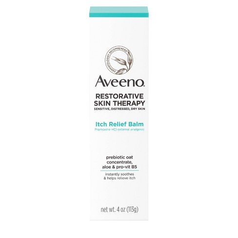 Aveeno Restorative Skin Therapy Itch Relief Balm - 4oz - image 1 of 4