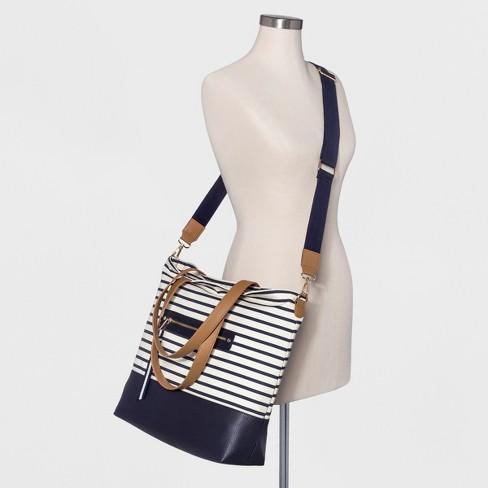 c0b3211cec6b Women s Canvas Tote Handbag - A New Day™   Target