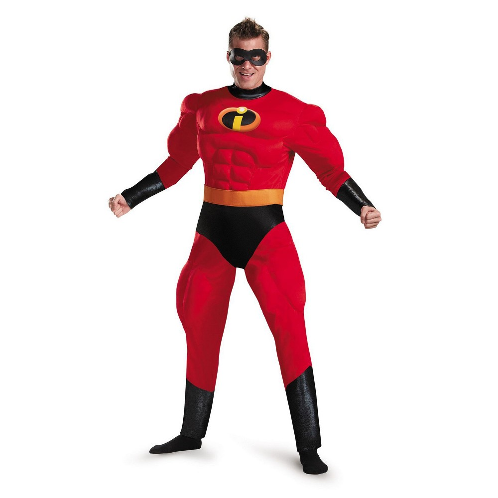 Incredibles 2 Men's Mr. Incredible Classic Muscle Halloween Costume Xxl - Disguise, Red