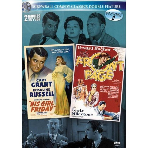 Screwball: His Girl Griday / Front Page (DVD) - image 1 of 1